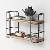 Rustic Shelf Unit Small