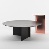 OS tables set 1 by Atelier de Troupe