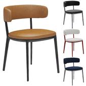 B & b italia Caratos Maxalto Dining Chair