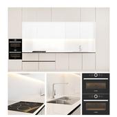 Contemporary kitchen SCAVOLINI with BOSCH appliances