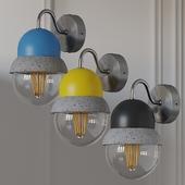 Maayan Wall - lightweight Concrete Lamp