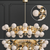 kebo ball chandelier