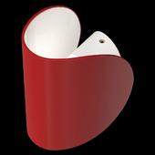 Минималистский поворотный светильник бра Ornes Lampatron