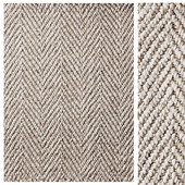 Alannis Herringbone Wool & Hemp Rug
