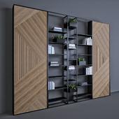 Metal & Wood shelf