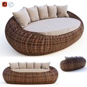 Ротанговый диван Kiwi