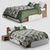 Stefan's bed
