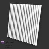 OM Gypsum 3D Panel ZIGZAG by Artpole