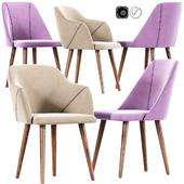 Creggan Upholstered Dining Chair Set