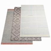 Three rugs WARLI - 16