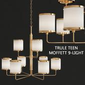 Trule Teen Moffett 9-Light Shaded Chandelier