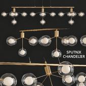 Lights Sputnik Chandelier Ambient Light Electroplated