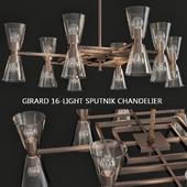 Girard 16-Light Sputnik Chandelier