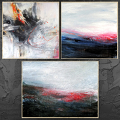 Paintings abstract | set 448