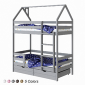 ECO children's bunk bed