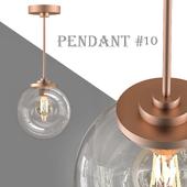 Pendant light 10