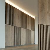 Wall panel made of wood. Decorative wall. 46
