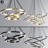 Modern Ring Pendant Light