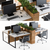 Office Furniture Flower Box