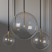 Glass Globe Mobile Pendant