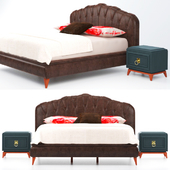 Enza home collection Elagente bed