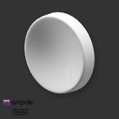 OM Gypsum 3D Panel Elementary LUNA by Artpole