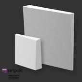 OM Gypsum 3D Panel Elementary KVADRO by Artpole
