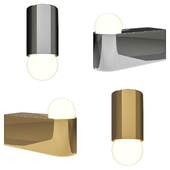 Brass Architectural Collection D2, O1 Sconce by Michael Anastassiades