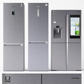 Set of refrigerators Samsung 2