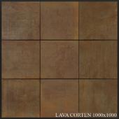 Grespania Coverlam Lava Corten 1000x1000
