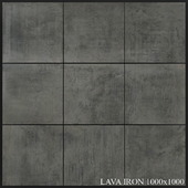 Grespania Coverlam Lava Iron 1000x1000