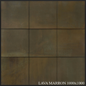 Grespania Coverlam Lava Marron 1000x1000