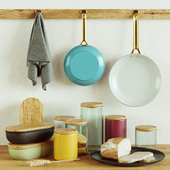 Kitchen Decorative set 034