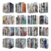 Books (150 pieces) 1-2-18-1