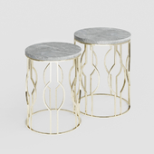Zara Home Round Marble Tables