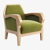 Anthroposophical Easy Chair by Felix Kayser