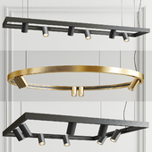 Superloop Spy Delta Chandelier - 3 type