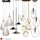 Four Pendant Lights amazing set vol. 16