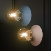 FOGGY Ceramic Wall Sconce Light
