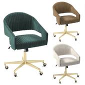 Velvet office chairs