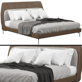 Bed Poltrona Frau COUPE