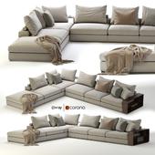 Flexform Groundpiece Sectional Sofa