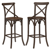 Restoration Hardware Madeleine Armless Stool