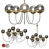 Chandelier ORBIT WALL