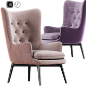 Aarmo Wing Chair Armchair 02