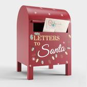 Zara Home box for letter to Santa