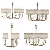 deer brass chandelier