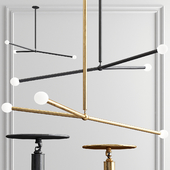 Apparatus Arrow Chandelier