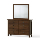 OM Chest of drawers with mirror
