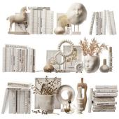 Decorative set for filling shelves 4